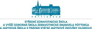 Logo střední zdravotnické školy v Olomouci
