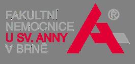 červené logo nemocnice u svaté anny