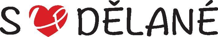 Červeno černé logo společnosti S láskou dělané